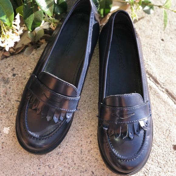 de1d8f66b42 Zara girls size 1 blue flat fringe loafer shoes. M_5ad75882fcdc3169aa27ae7a